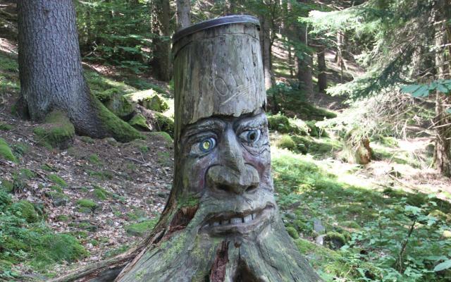 Der Waldgeist ÖLI in Steinegg