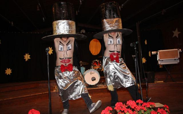 Vollmondband Steinegg live im Festzelt