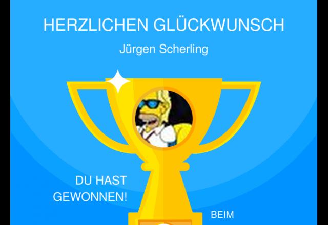 Herzlicher Glückwunsch Jürgen Scherling Sonnleiten Star