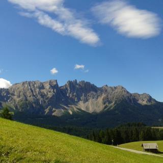 Wanderung Latemar Unesco Weltnaturerbe Südtirol zur Poppekanzel