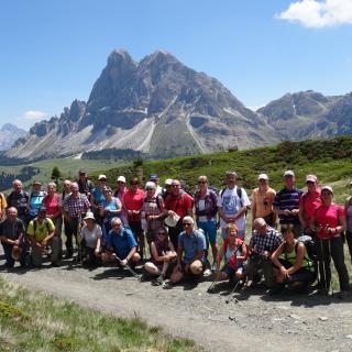 Geführte Wanderwoche mit Tour auf der Seiser Alm Südtirol Steinegg