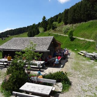 Almhütte Südtirol Rosengarten Steinegg