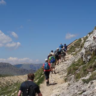 Wanderwoche Südtirol Rosengarten Steinegg