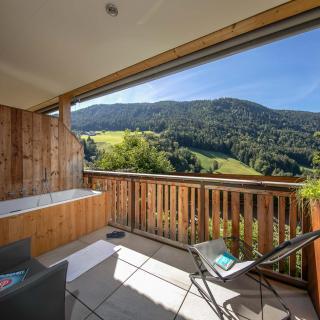 Balkon Ferienwohnung Sonnenadler