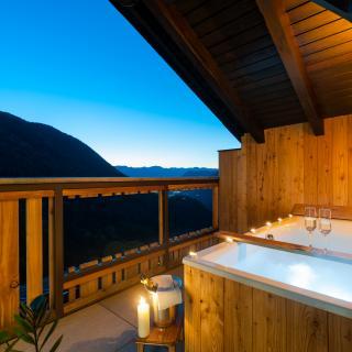 Balkon Ferienwohnung Sonnenparadies der kleinen Bären