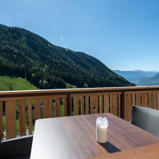 Balkon Ferienwohnung Sonnenparadies der kleinen Bären in Südtirol