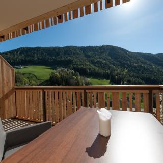 Balkon Ferienwohnung Sonnenschein in Südtirol