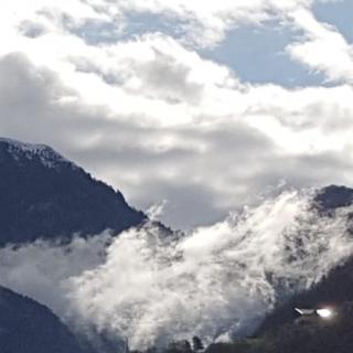 Nebelschwaden Rosengarten Südtirol