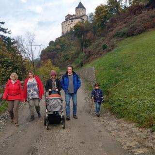Abstieg Trostburg Südtirol