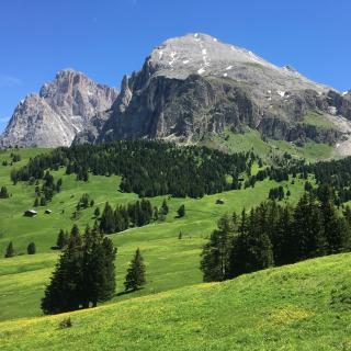 Lang - und Plattkofel Seiser Alm UNESCO Welt Naturerbe