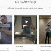 Mir Kloatznstingl Geschichten aus Steinegg